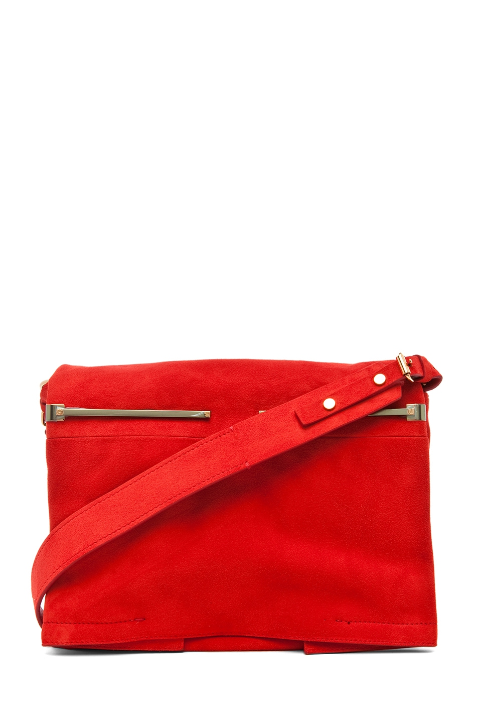 Image 1 of Lanvin Small Shoulder Bag in Poppy