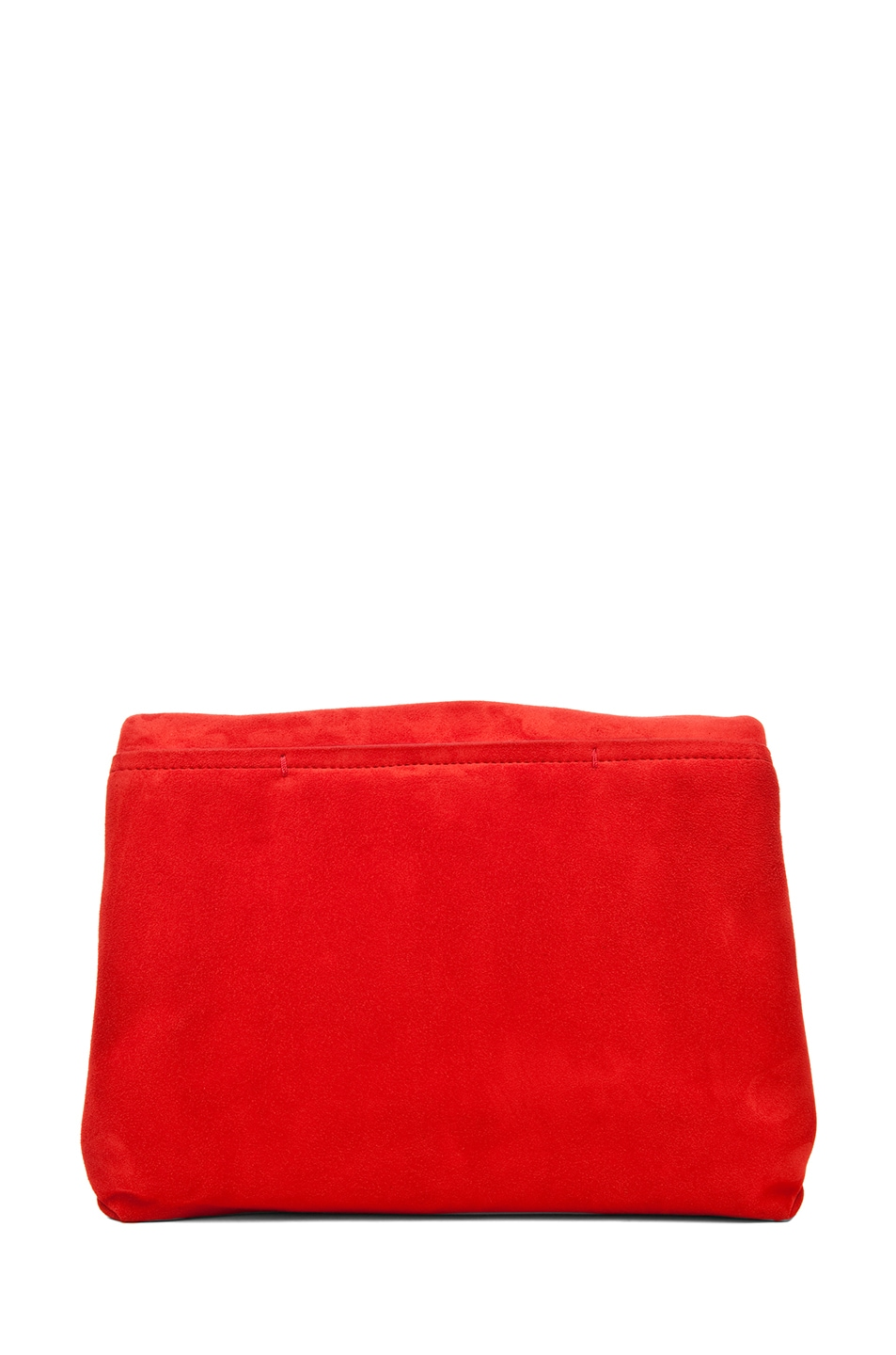 Image 2 of Lanvin Small Shoulder Bag in Poppy