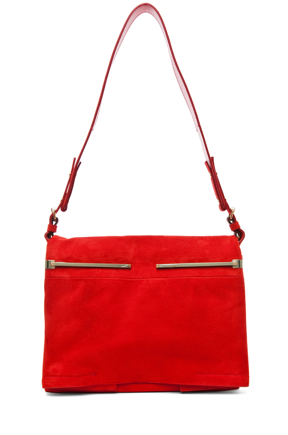 Image 5 of Lanvin Small Shoulder Bag in Poppy