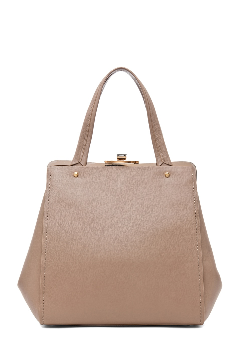 Image 1 of Lanvin Doctor Bag in Taupe
