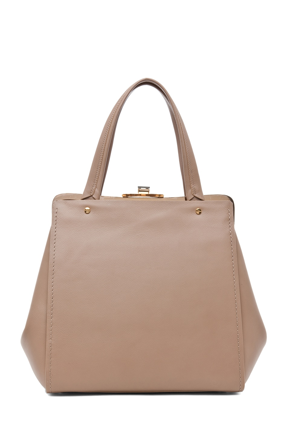 Image 2 of Lanvin Doctor Bag in Taupe