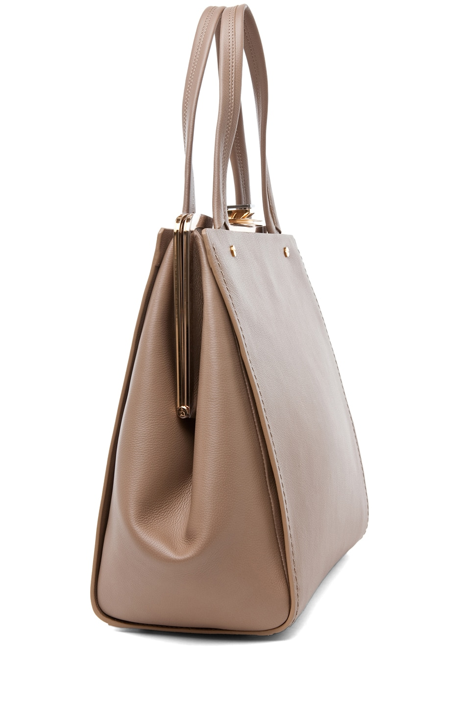 Image 3 of Lanvin Doctor Bag in Taupe