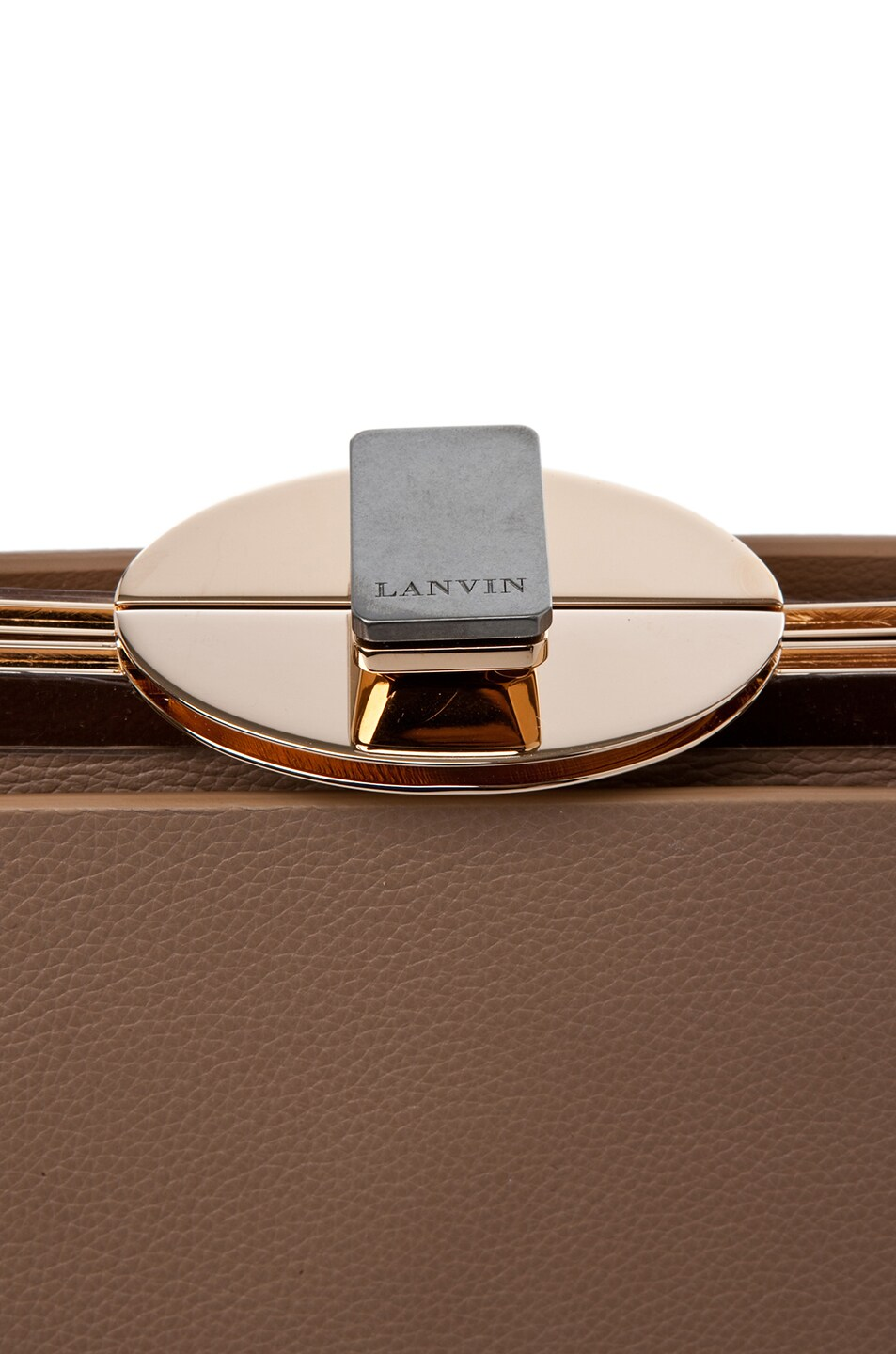 Image 4 of Lanvin Doctor Bag in Taupe