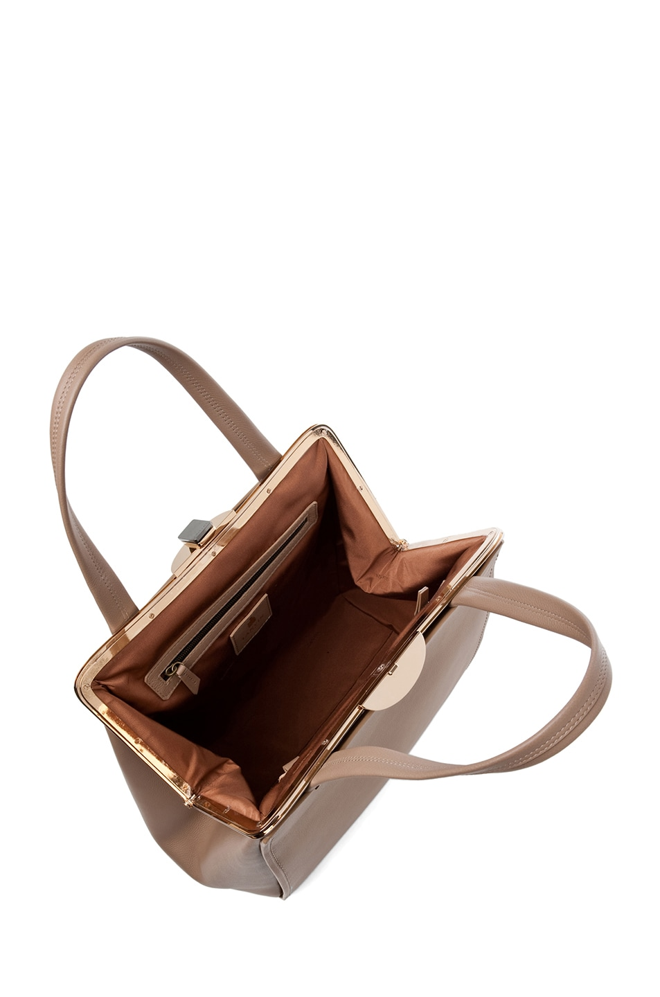 Image 5 of Lanvin Doctor Bag in Taupe