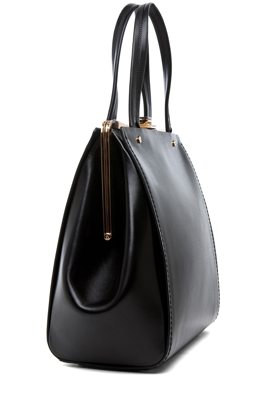 Image 3 of Lanvin Doctor Bag in Black