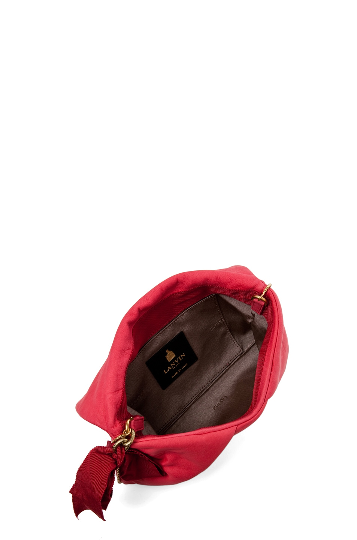 Image 4 of Lanvin Clutch Bag in Poppy
