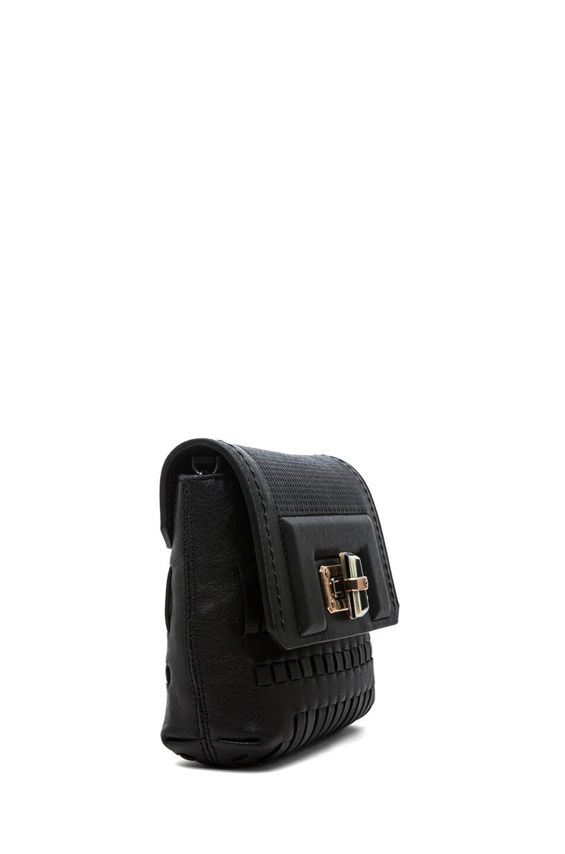 Image 3 of Lanvin Mini Pop Happy Bag in Noir