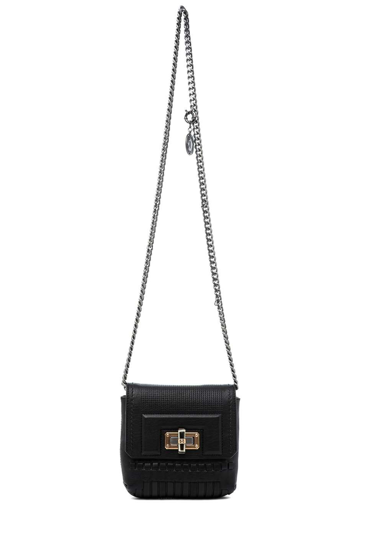 Image 5 of Lanvin Mini Pop Happy Bag in Noir