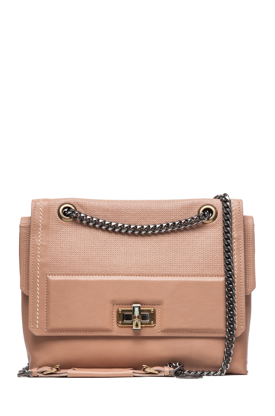 Image 1 of Lanvin Happy Bag in Beige