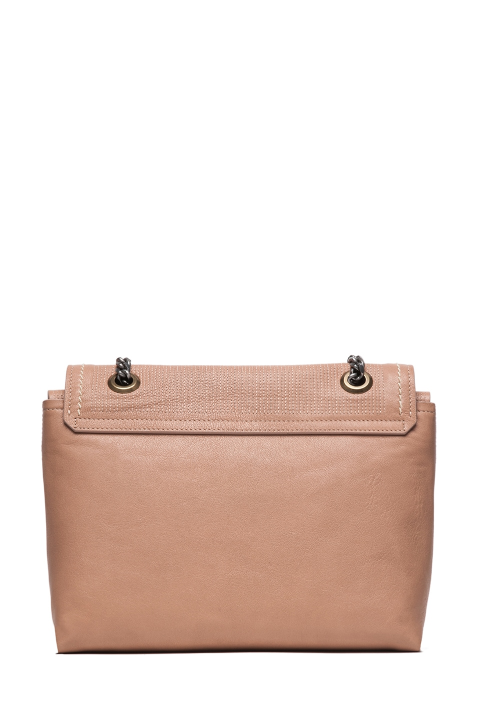 Image 2 of Lanvin Happy Bag in Beige