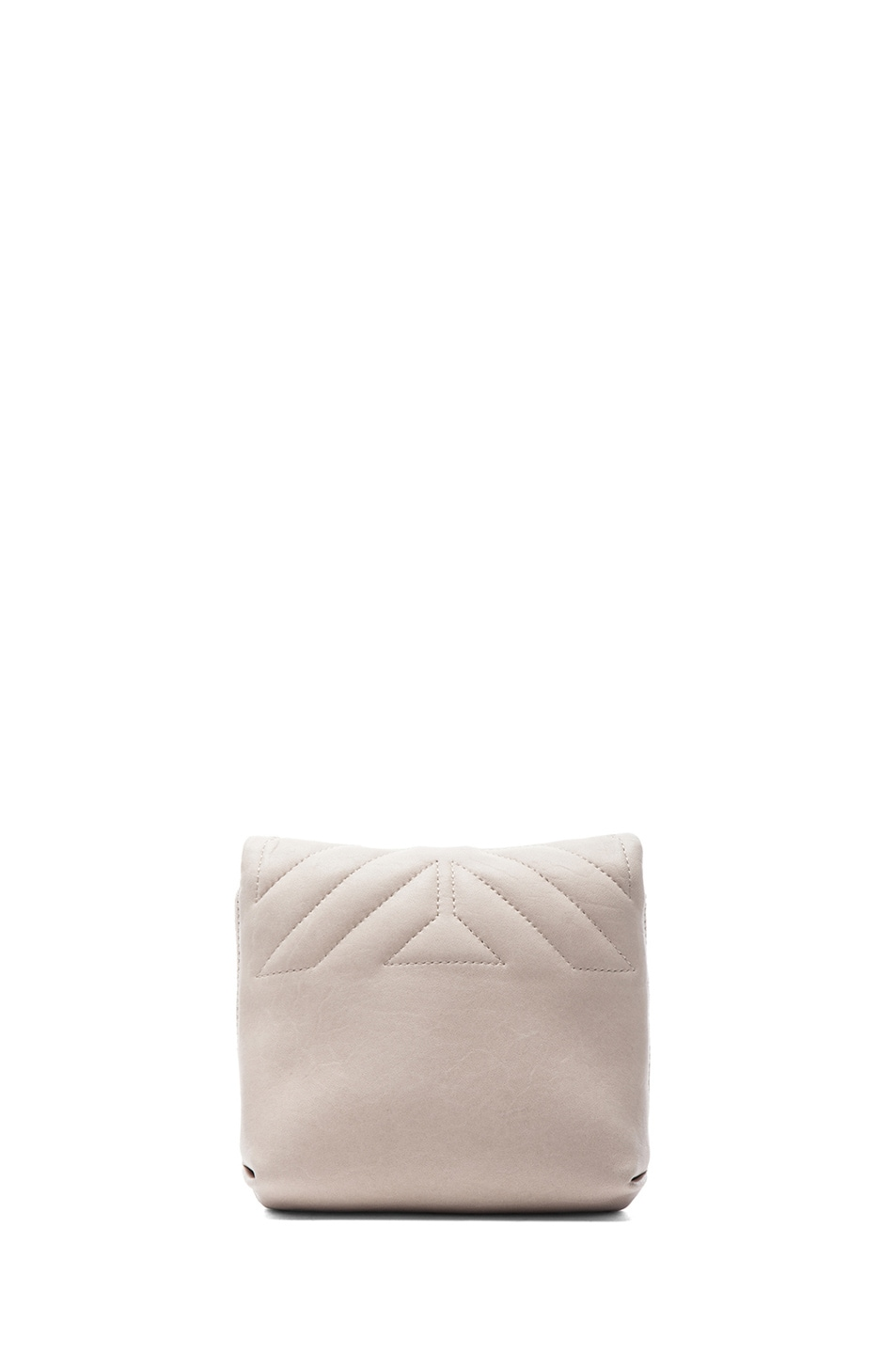 Image 2 of Lanvin Happy Quilted Mini in Ivory