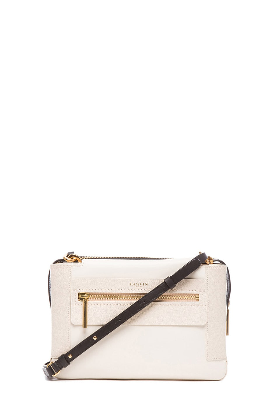 Image 1 of Lanvin Small Crossbody in Ivory