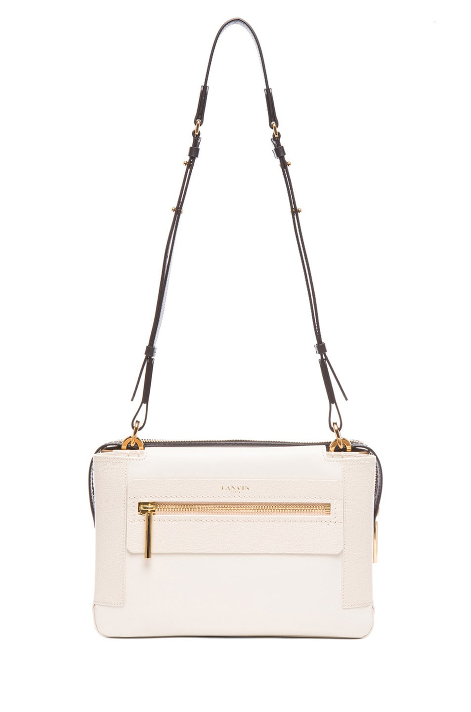 Image 5 of Lanvin Small Crossbody in Ivory