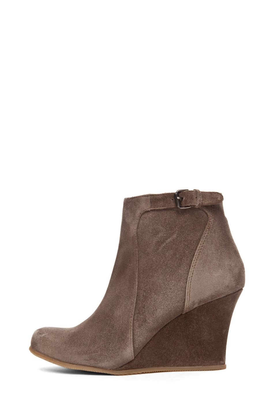 Image 1 of Lanvin Wedge Bootie in Taupe