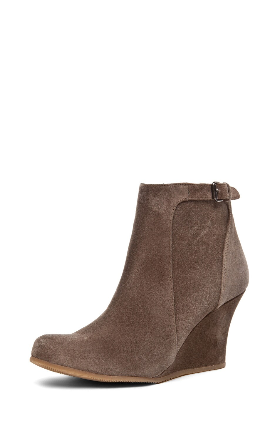 Image 2 of Lanvin Wedge Bootie in Taupe
