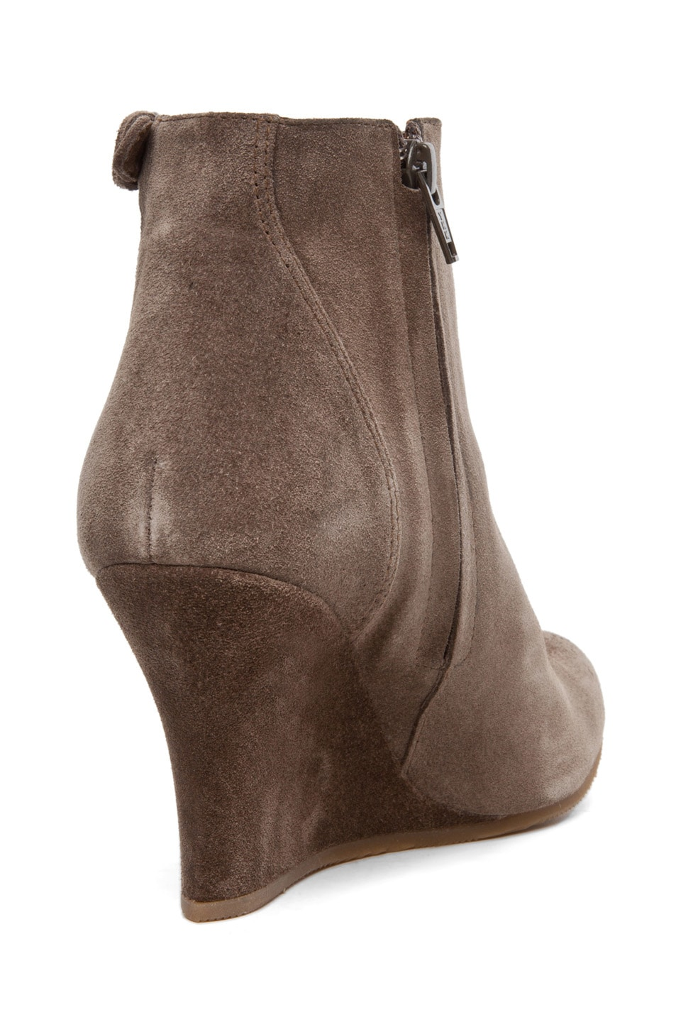 Image 3 of Lanvin Wedge Bootie in Taupe