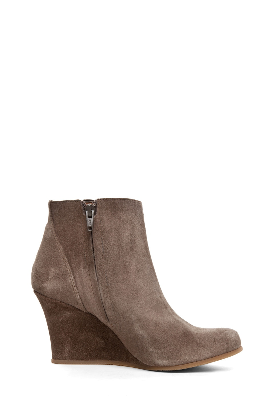 Image 5 of Lanvin Wedge Bootie in Taupe