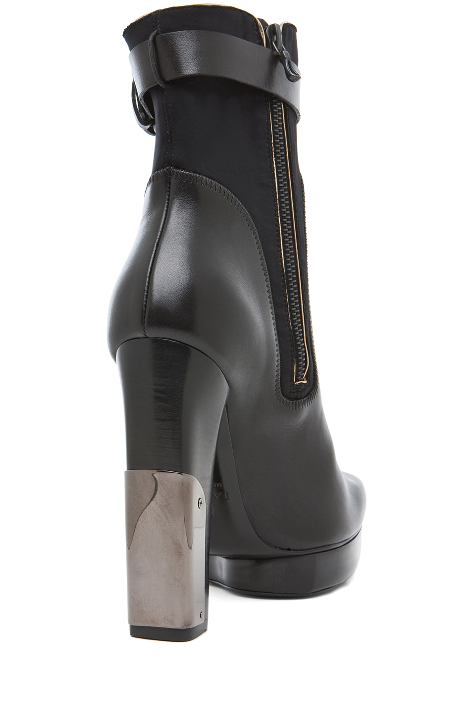Image 3 of Lanvin Bootie in Black