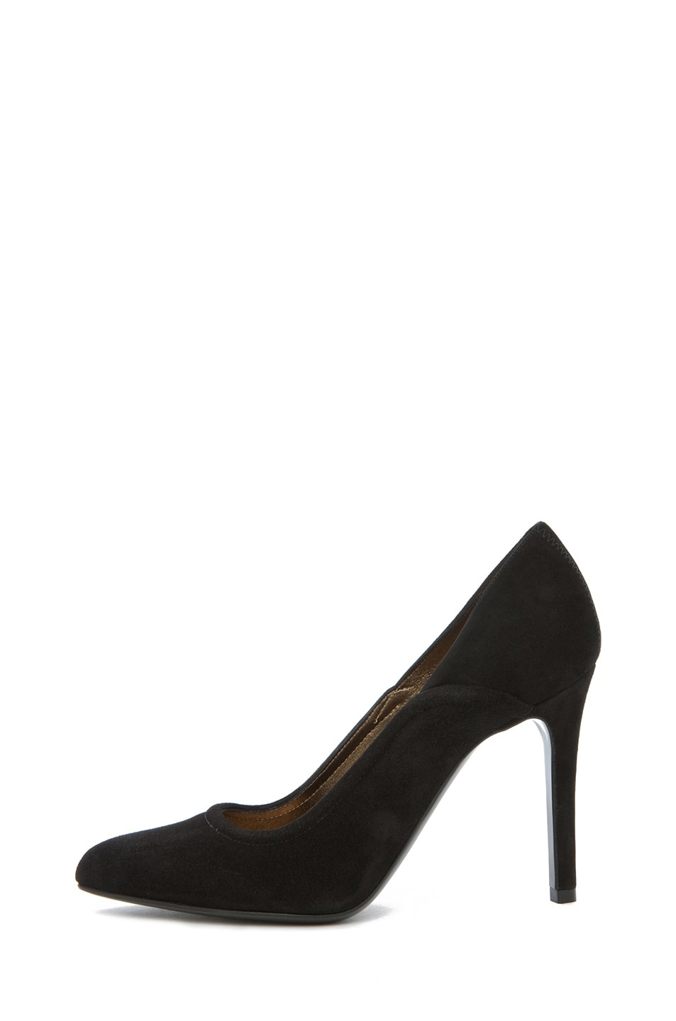 Image 1 of Lanvin Suede Pump in Black