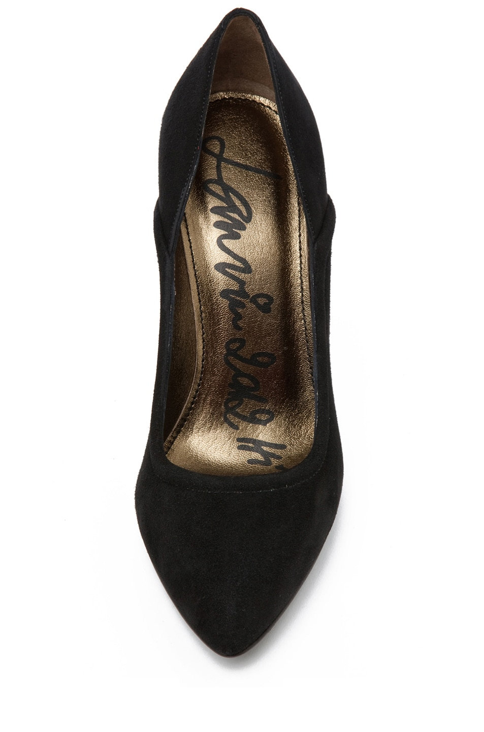 Image 4 of Lanvin Suede Pump in Black