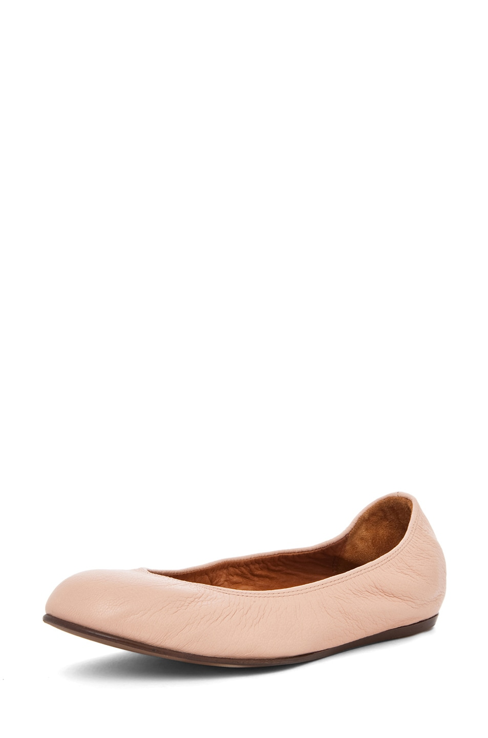 Image 2 of Lanvin Classic Ballerina Flat in Light Pink