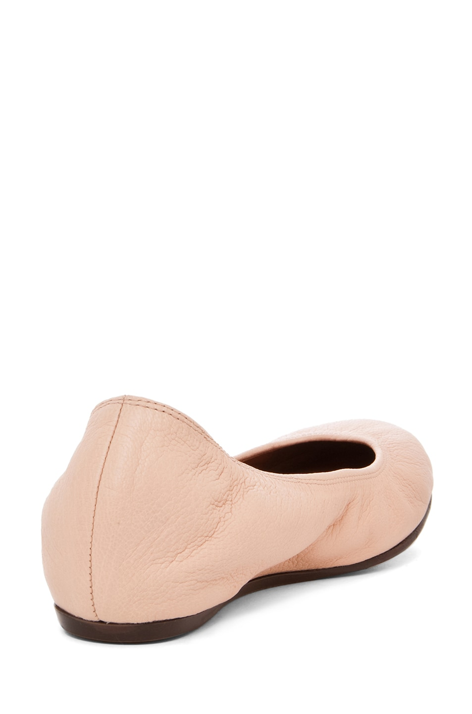 Image 3 of Lanvin Classic Ballerina Flat in Light Pink