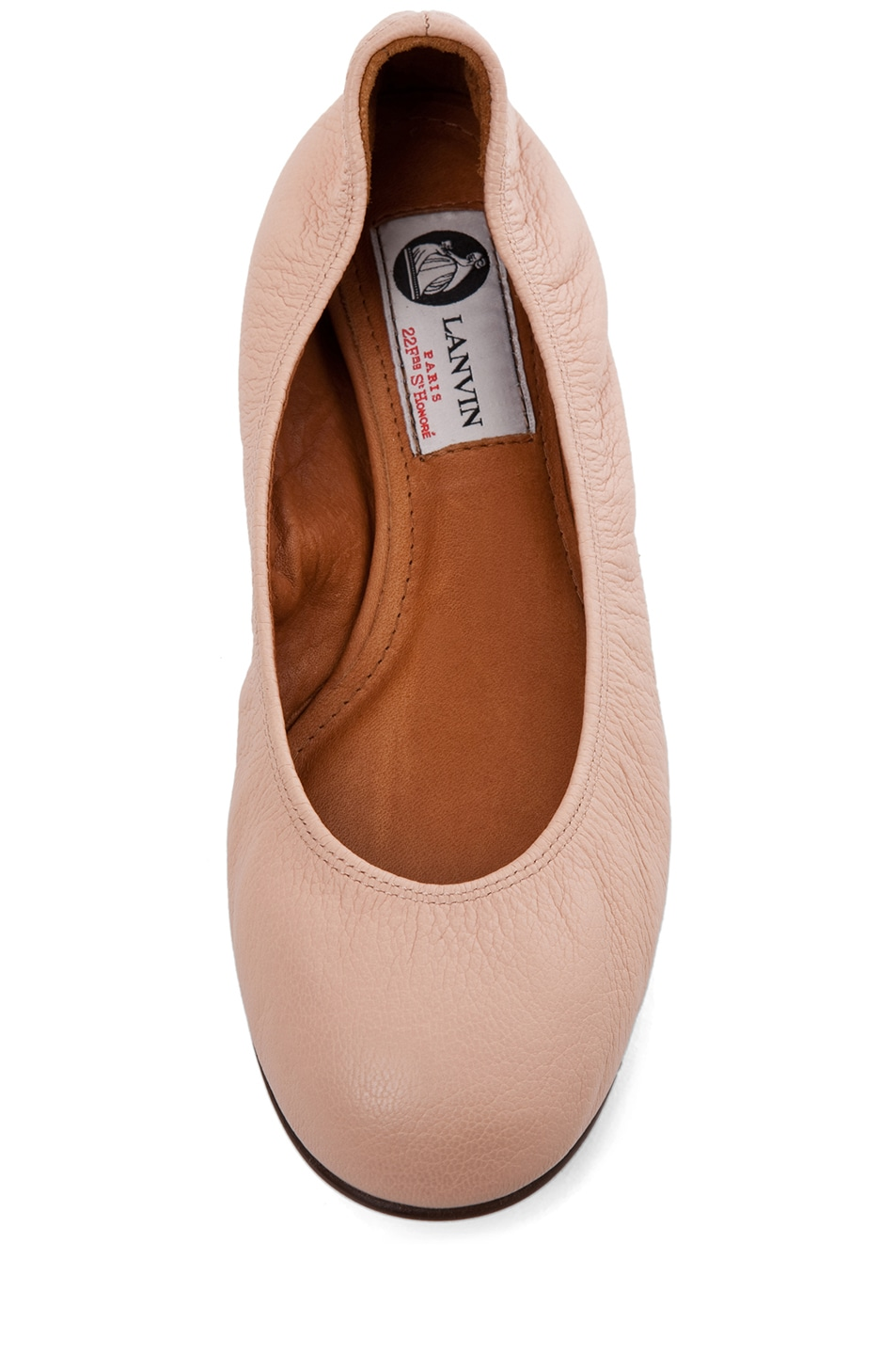 Image 4 of Lanvin Classic Ballerina Flat in Light Pink