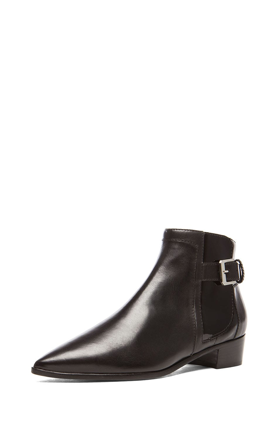 Image 2 of Laurence Dacade Ed Calfskin Leather Booties in Black