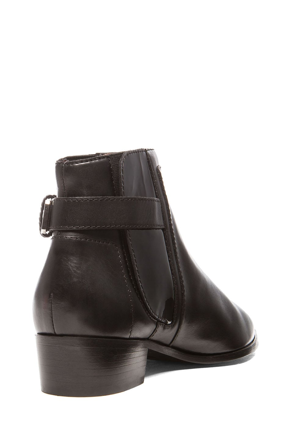 Image 3 of Laurence Dacade Ed Calfskin Leather Booties in Black