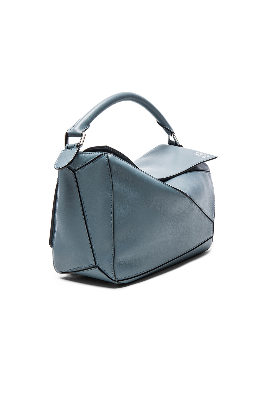 Image 4 of Loewe Puzzle Bag in Stone Blue