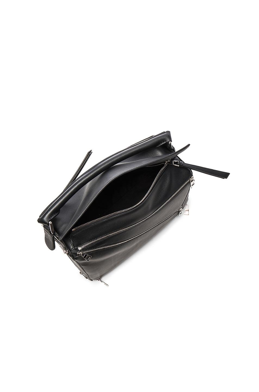 Image 4 of Loewe Puzzle Zips Bag in Black