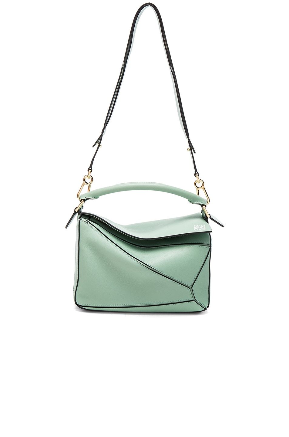 Image 5 of Loewe Puzzle Small Bag in Sea Water Green