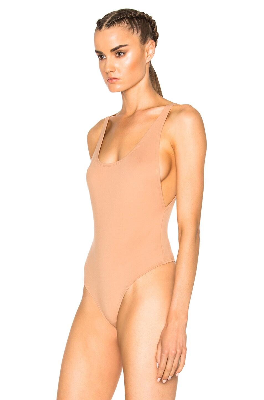 Image 3 of LPA 23 Bodysuit in Nude
