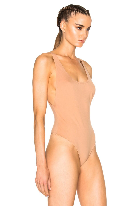 Image 4 of LPA 23 Bodysuit in Nude