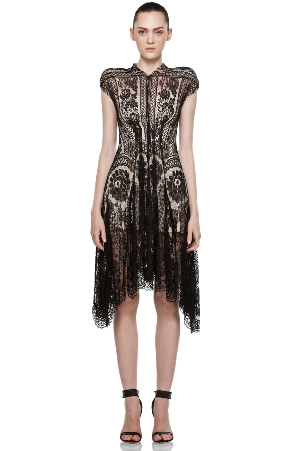 Image 1 of Lover Wiccan Dress in Black