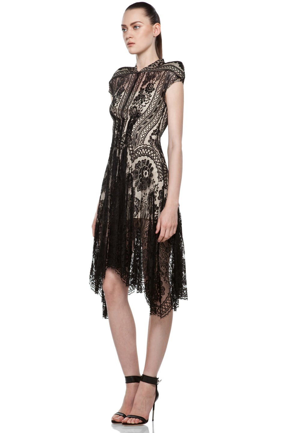 Image 2 of Lover Wiccan Dress in Black