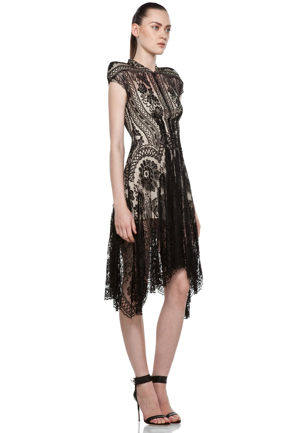 Image 3 of Lover Wiccan Dress in Black