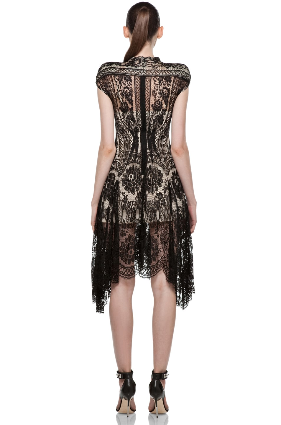 Image 4 of Lover Wiccan Dress in Black