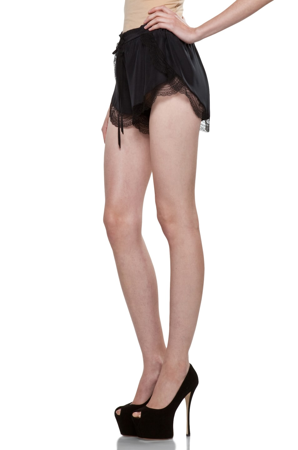 Image 2 of Lover Mystical Cami Shorts in Black