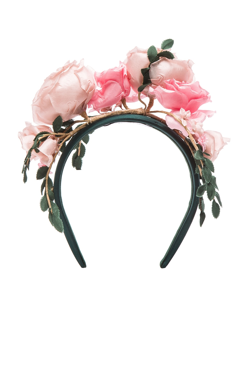 Image 1 of Maison Michel Betty Headband in Rose