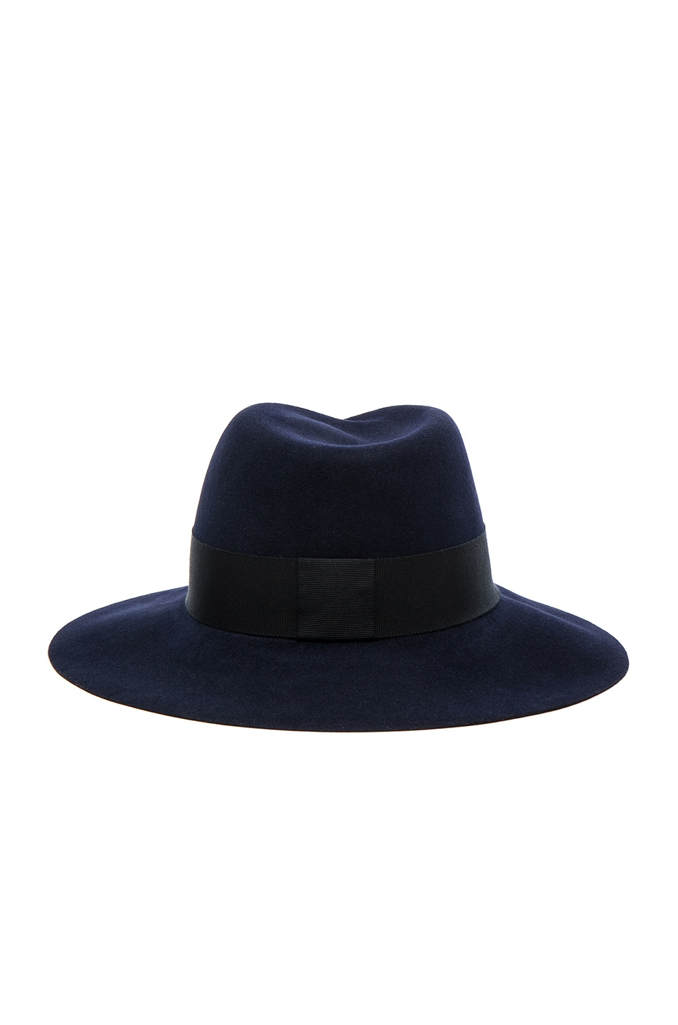 Image 5 of Maison Michel Virginie Felt Hat in Navy