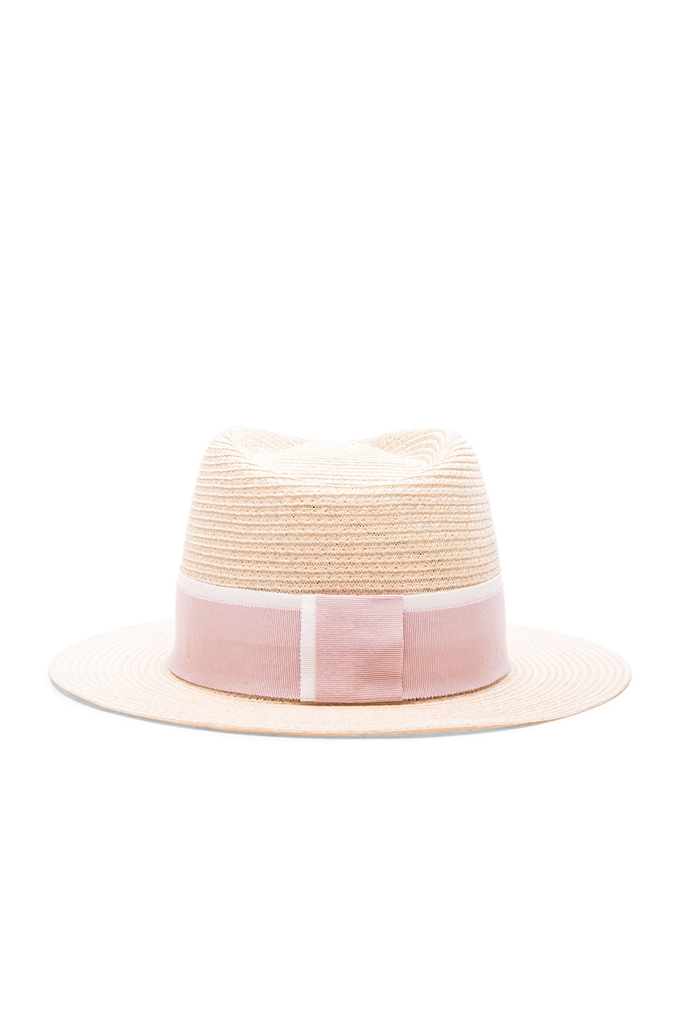 Image 5 of Maison Michel Andre Hat in Natural Rose