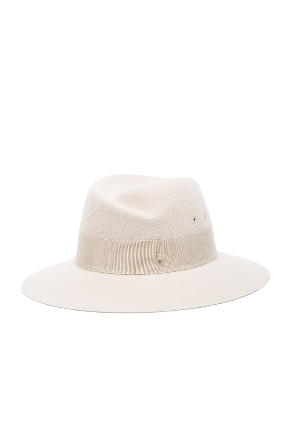 Image 2 of Maison Michel Virginie Hat in White Chalk
