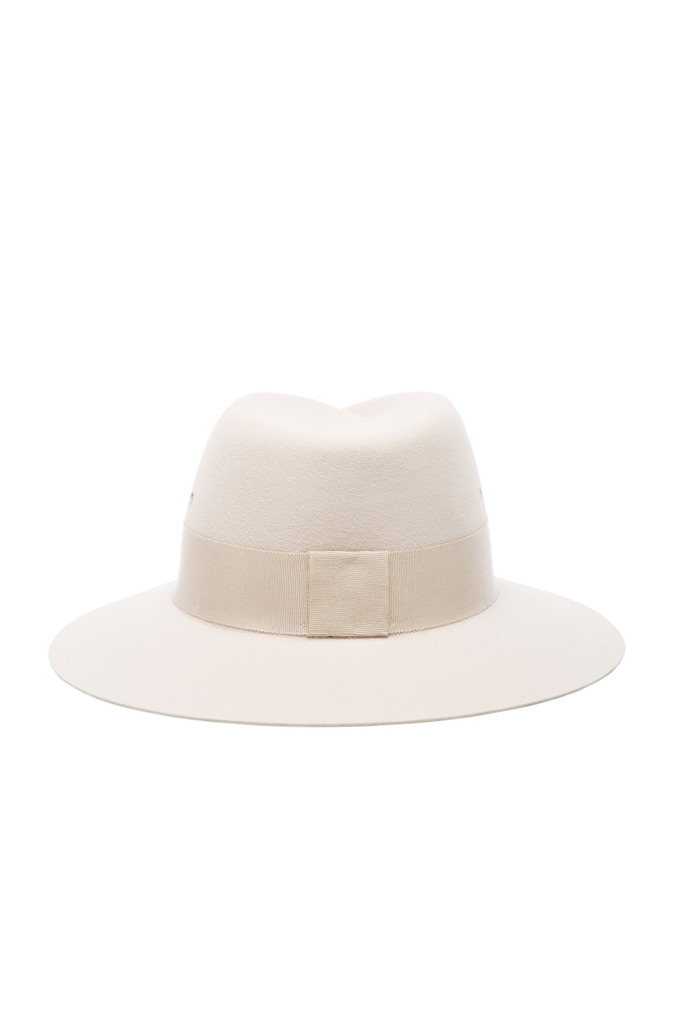 Image 4 of Maison Michel Virginie Hat in White Chalk