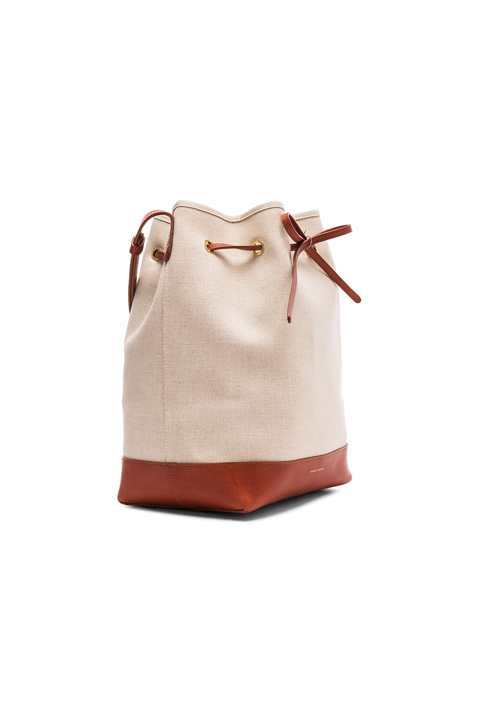 mansur gavriel canvas bucket bag. Black Bedroom Furniture Sets. Home Design Ideas