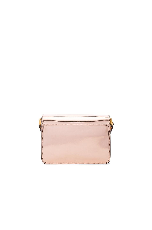 Image 3 of Marni Mini Metallic Trunk Bag in Macaroon