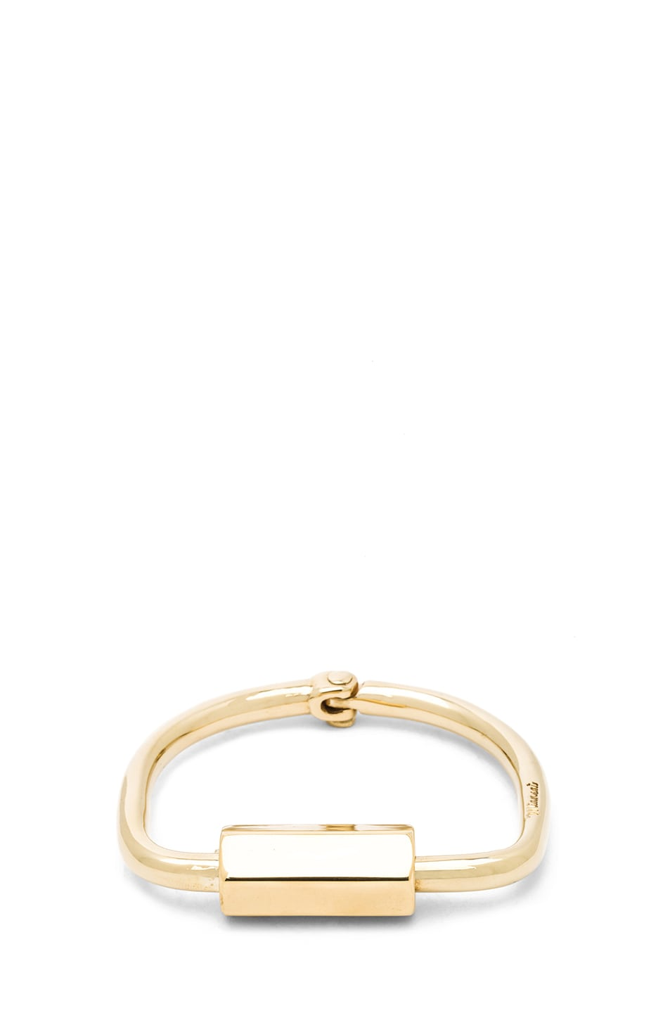 Image 1 of Miansai Naomi Cuff in Brass