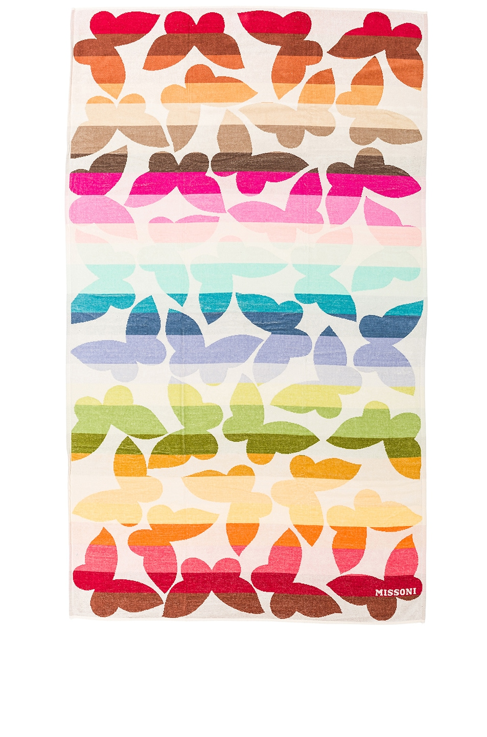 Image 1 of Missoni Home Jamelia Butterfly Beach Towel in Multi
