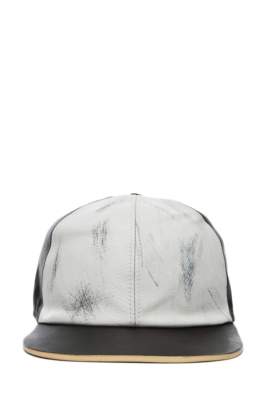Image 1 of Marc Jacobs Baseball Cap in Black & White