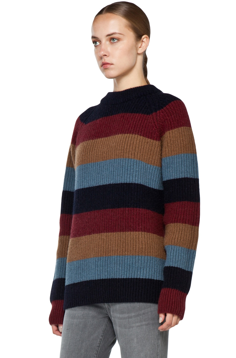 Image 2 of Marc Jacobs Striped Sweater in Multi